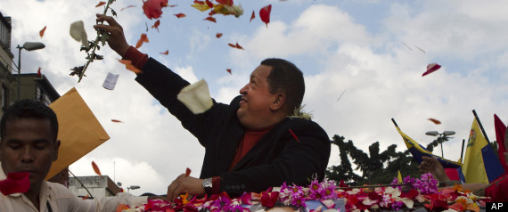 APTOPIX Venezuela Chavez Cancer